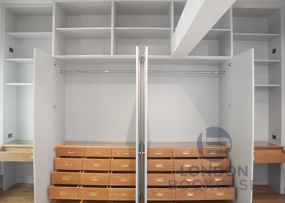 bespoke wardrobe system front