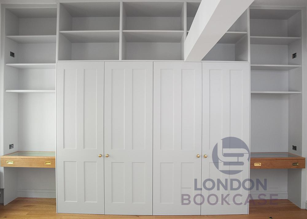 bespoke wardrobe with doors