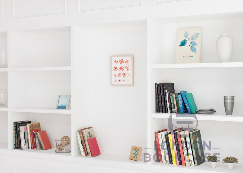 book display shelves