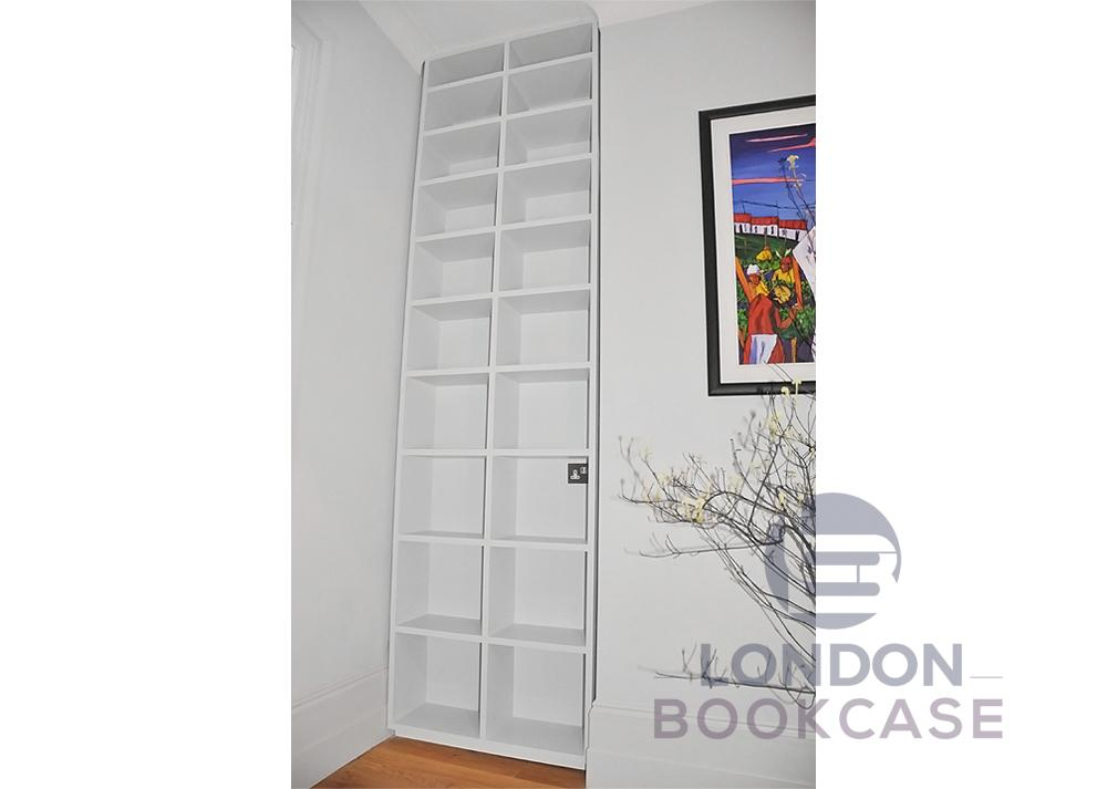 built in shelving unit