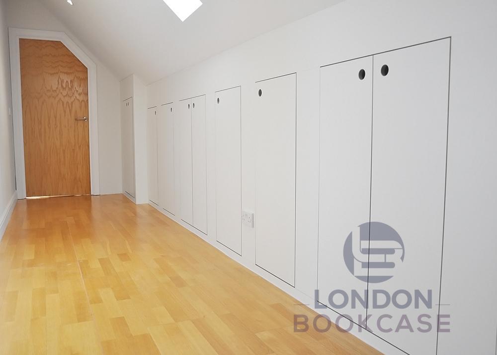 bespoke wall cavity storage cabinets system
