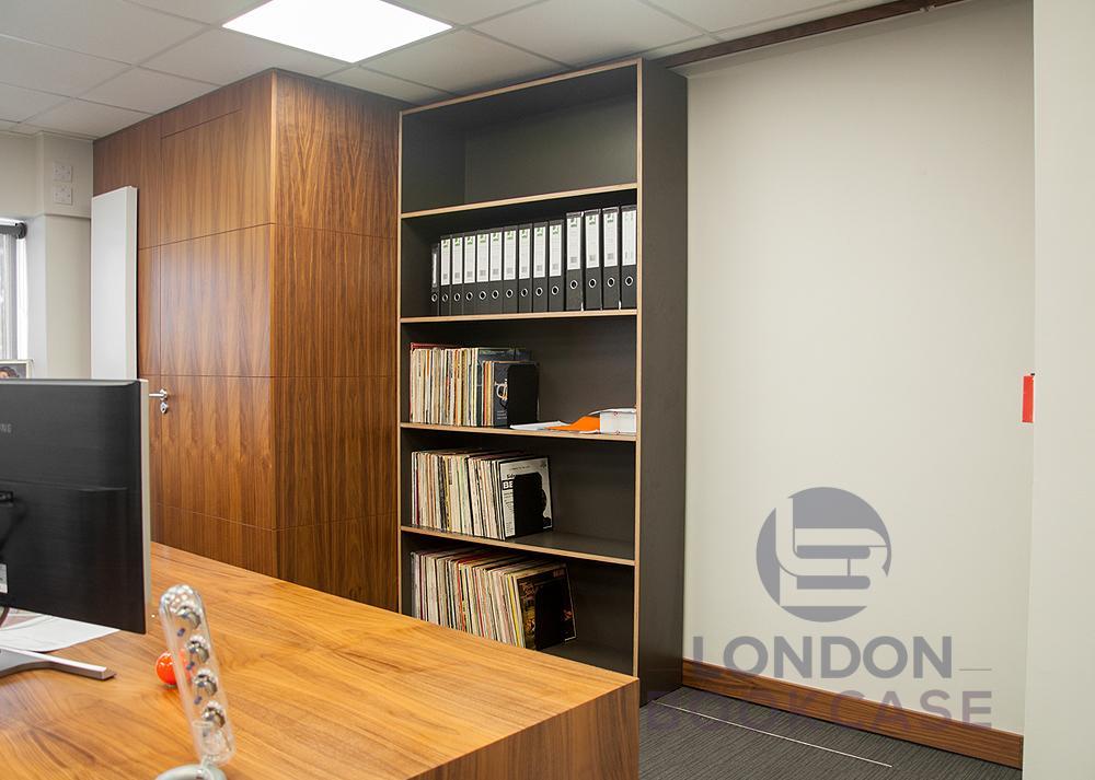 custom fitted office shelving