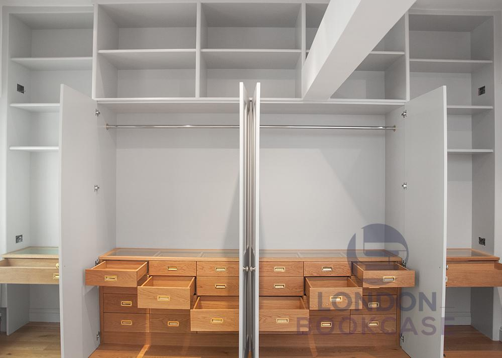 custom fitted wardrobe system