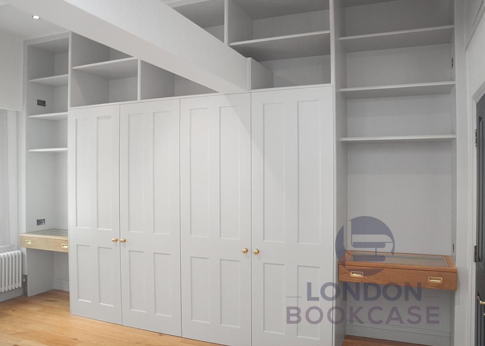 custom fitted wardrobe units