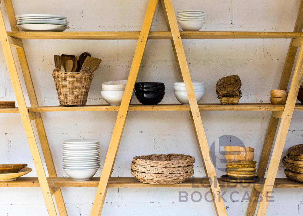 display shelves for kitchen