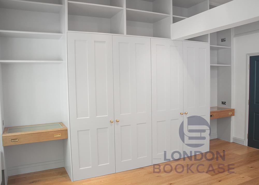 fully functional fitted wardrobe