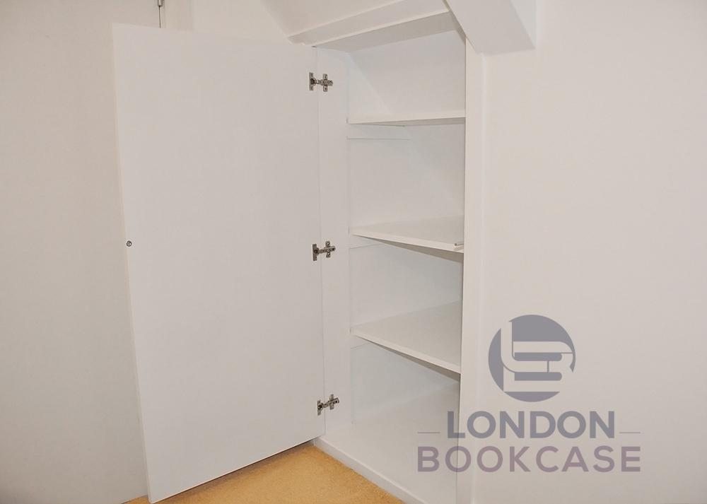 hidden cupboard inside