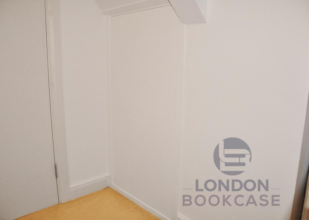 hidden cupboard unit push to open