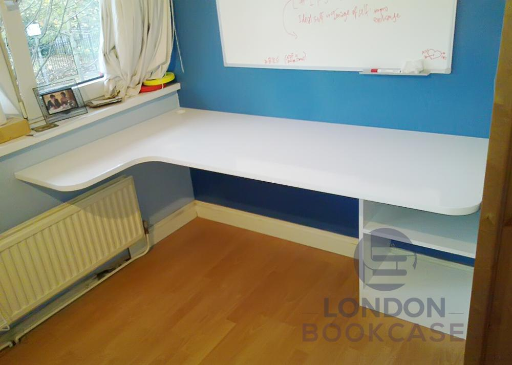 fitted home study desk