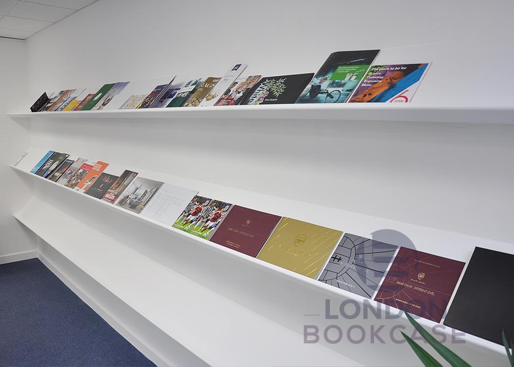 long display shelves