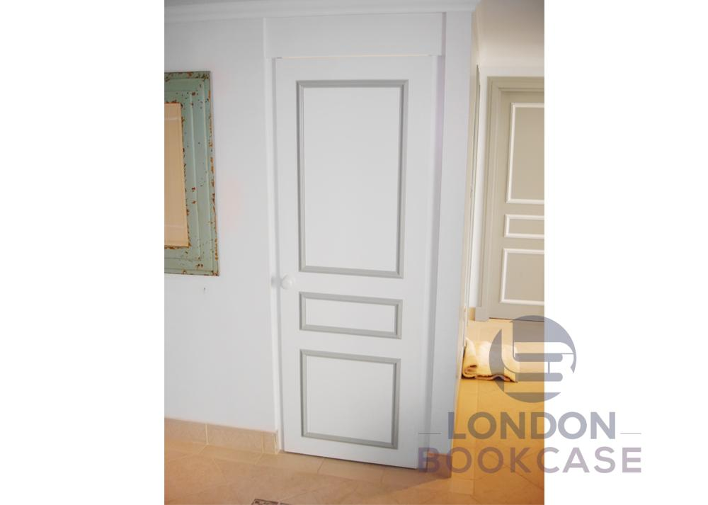 built in wardrobe closed door